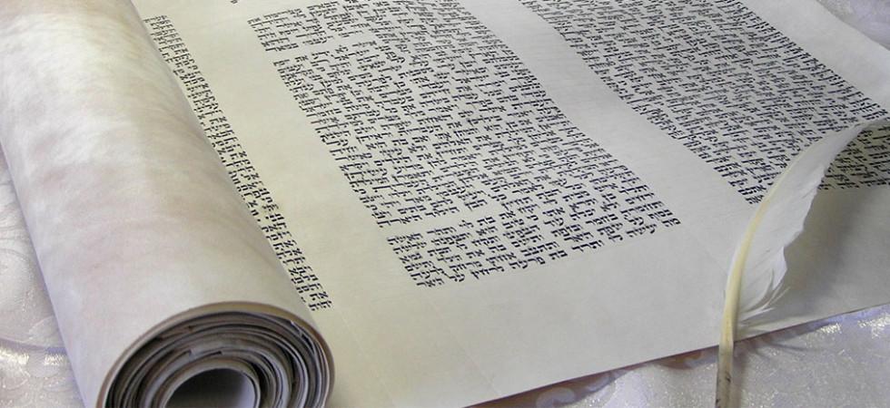 Unrolled scroll